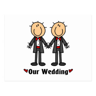 Carte Postale Mariages gais, mâle