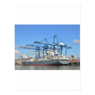 Carte Postale Marianne Schulte dans le dock