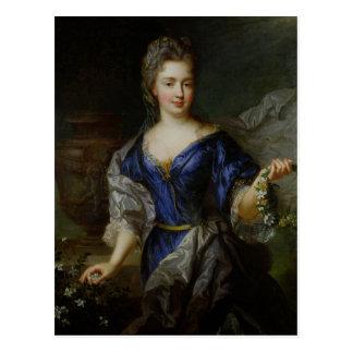Carte Postale Marie-Anne de Bourbon Princesse de Conti