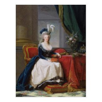 Carte Postale Marie-Antoinette 1788