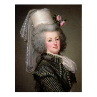 Carte Postale Marie-Antoinette de la Habsbourg-Lorraine