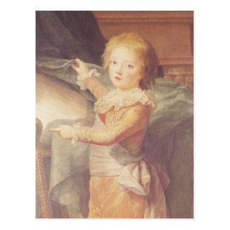 Carte Postale Marie-Antoinette et ses enfants