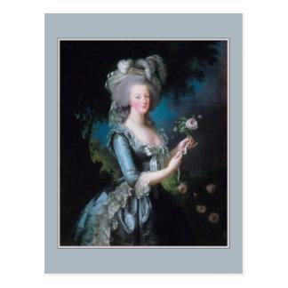 Carte Postale Marie Antoinette par Elisabeth Vigee-Lebrun