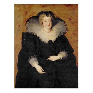 Carte Postale Marie de Medici, 1622