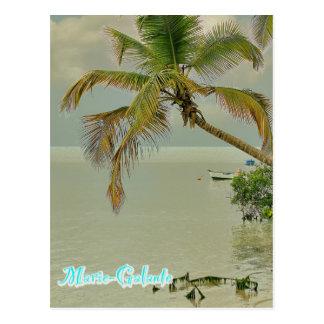 Carte Postale Marie-Galante, plage