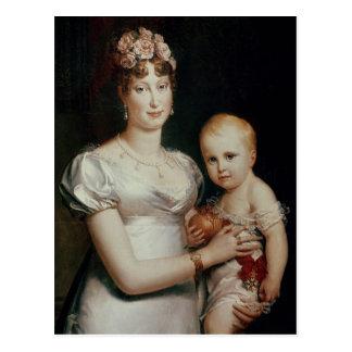 Carte Postale Marie-Louise de la Habsbourg-Lorraine