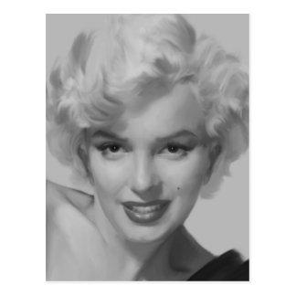 Carte Postale Marilyn le regard