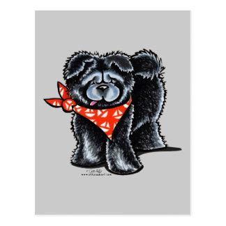 Carte Postale Marin noir de bouffe de bouffe