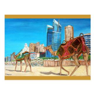 Carte Postale Marina de Dubaï