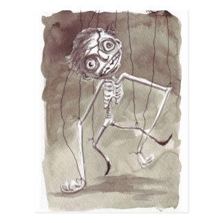 Carte Postale Marionnette laide de Goth
