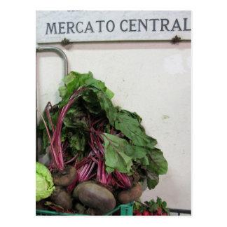 Carte Postale Market central Florence