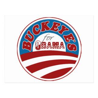Carte Postale Maronniers américains pour Obama