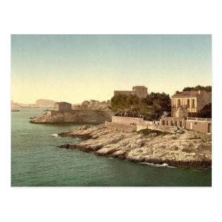 Carte Postale Marseille vintage, France -