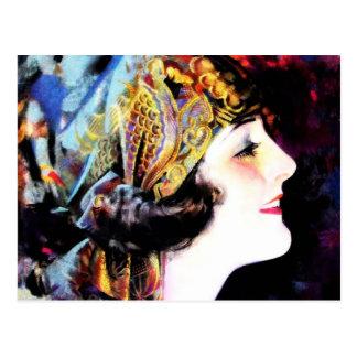 Carte Postale Martha Mansfield, une légende de cinéma muet