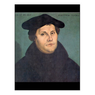 Carte Postale Martin Luther