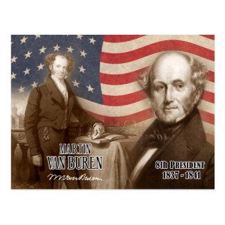 Carte Postale Martin Van Buren - 8ème président des États-Unis