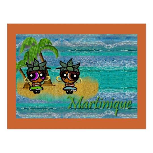 Carte Postale Martinique / Zafè ko sa ki pa la !