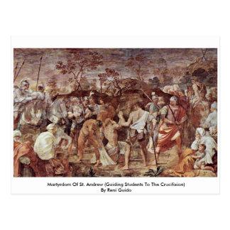 Carte Postale Martyre de St Andrew