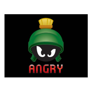 Carte Postale MARVIN le MARTIAN™ Emoji fâché
