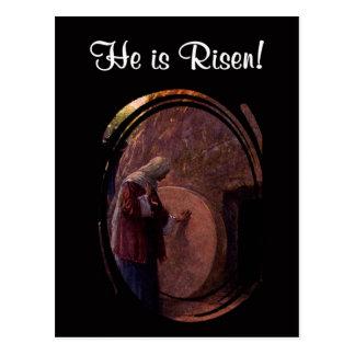 Carte Postale Mary Magdalene extraordinaire à la tombe vide de