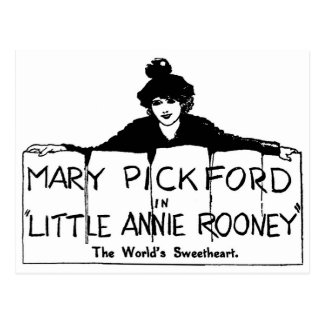 Carte Postale Mary Pickford petite Annie Rooney