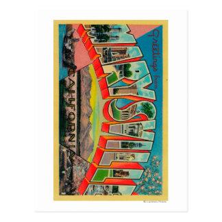 Carte Postale Marysville, la Californie - grandes scènes de