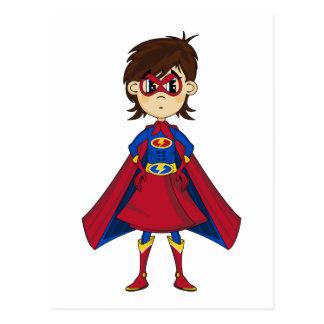 Super h ros cartes postales - Image super heros fille ...