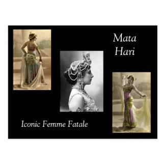 Carte Postale Mata Hari