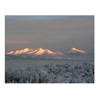 Carte Postale Matin de Mt. Lindsey