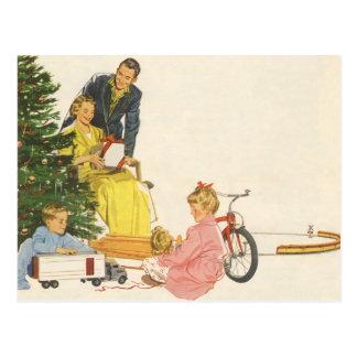 Carte Postale Matin de Noël