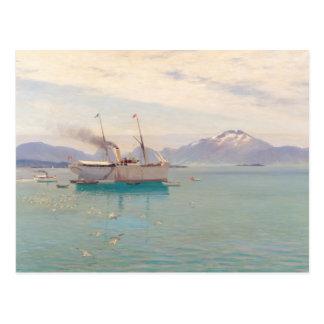 Carte Postale Matin d'été chez Molde, 1892