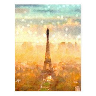 Carte Postale Matin tôt de Paris