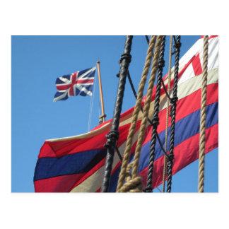 Carte Postale Mâts de bateau chez Jamestowne historique
