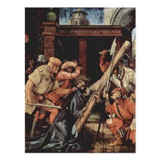 Carte Postale Matthias Grünewald- le Christ portant la croix
