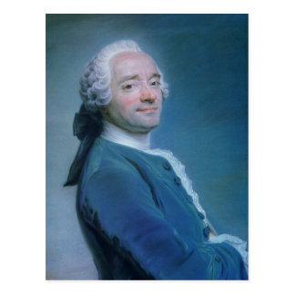 Carte Postale Maurice Quentin de la Tour Self-Portrait