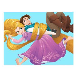Carte Postale Mauvais jour de cheveux de Rapunzel  