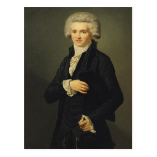 Carte Postale Maximilien de Robespierre 1791