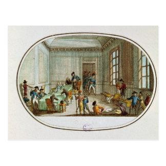 Carte Postale Maximilien de Robespierre blessé