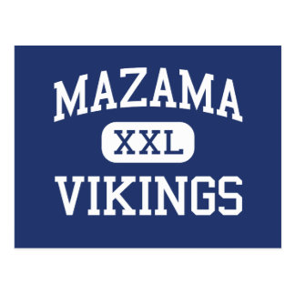 Carte Postale Mazama - Vikings - haut - Klamath tombe l'Orégon