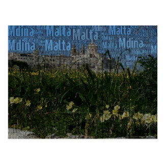 Carte Postale Mdina