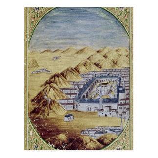 Carte Postale Mecque a entouré par les montagnes d'Arafa