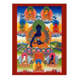 Carte Postale Médecine Bouddha