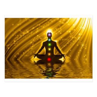 Carte Postale Méditation