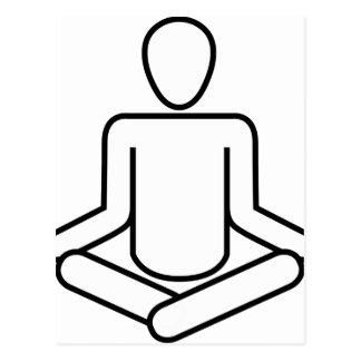 Carte Postale Méditation-logo