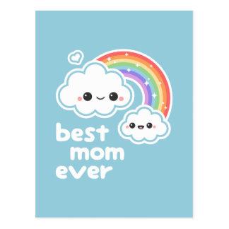 Carte Postale Meilleure maman mignonne jamais