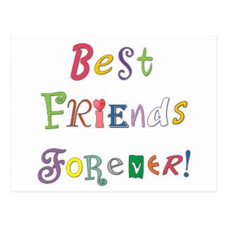 Carte Postale Meilleurs amis pour toujours