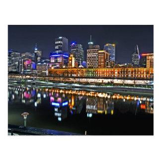 Carte Postale Melbourne dans HDR 1