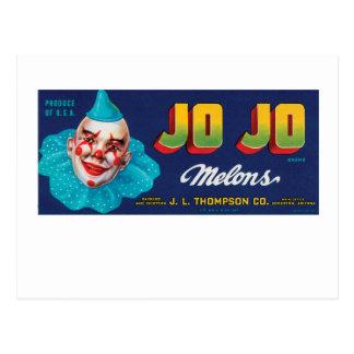 Carte Postale Melons de JO de JO