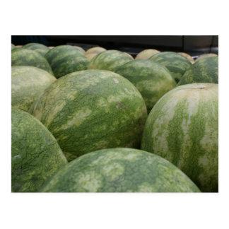 Carte Postale Melons frais