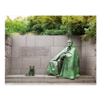 Carte Postale Mémorial de FDR dans le Washington DC